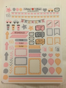 Cute pastel themed reminders