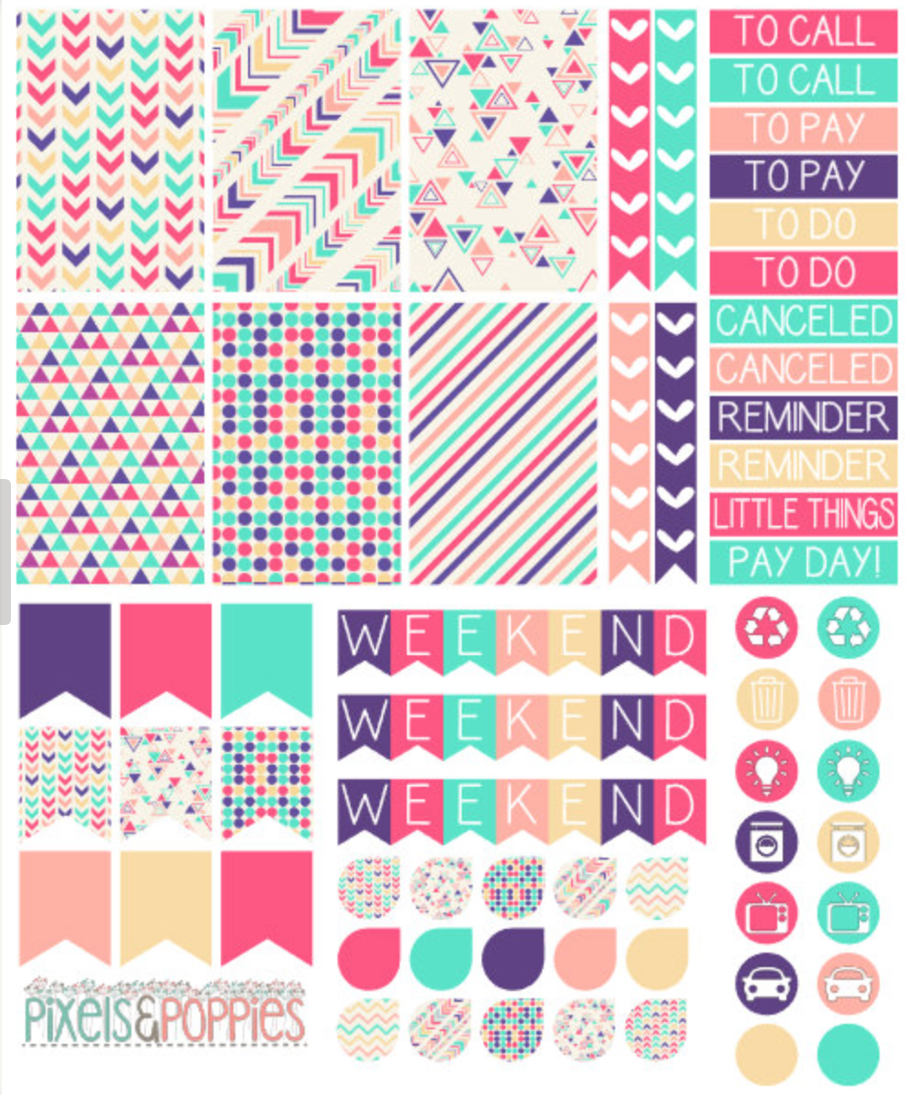 The Best Etsy Shops for Planner Junkies – Stickers – Part I