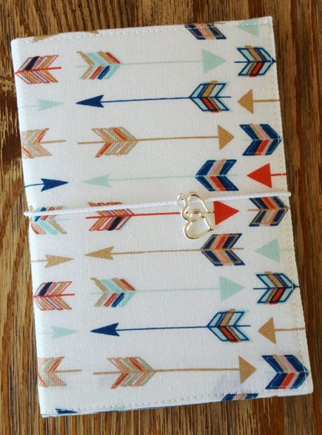 Arrows Fauxdori - Travelers Notebook Cover $14 Etsy